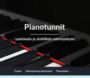 Pianotunnit Internethelpin referenssi